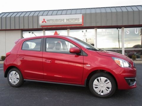 New 2018 Mitsubishi Mirage ES FWD 4D Hatchback